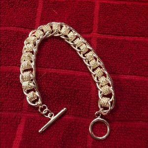 Jewelry - Heavy 925 toggle bracelet
